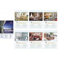Buy cheap Bedding Photo Calendar Printing from wholesalers