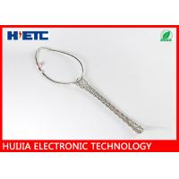 Buy cheap Pre Laced Hoisting Cord Grip Strain Relief , 7/8 Inch Feeder Cable Wire Mesh Grips product