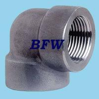 Buy cheap HIGH PRESSURE FORGED THREADED FITTINGS 2000#, 3000#,6000#, 9000# from wholesalers