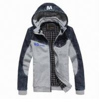 Buy cheap Stylish Men's Sports Jacket, Suitable for Outdoor Wear, Sports Wear from wholesalers