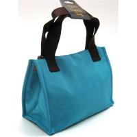 Buy cheap INSULATED LUNCH BAG ~ LUNCH TOTE TURQUOISE & BROWN ~ MEDIUM TOTE ~ NEW product