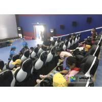 Buy cheap 24 Seats 5D Theater System With Electric Motion 5D Chair Play Roller Coaster from wholesalers