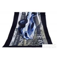 Buy cheap Super Soft Durable Velour Beach Towels Personalized For Family from wholesalers
