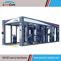 Buy cheap Automatic car washing machines with Flat belt conveyor/Automated stainless tunnel car wash from wholesalers