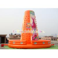 Buy cheap WaterProof Inflatable Climb Wall Climbing Rocky Mountain For Kids Play from wholesalers