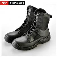Buy cheap Cow Leather Military Tactical Boots Abrasion Resistant Sandwich Mesh from wholesalers