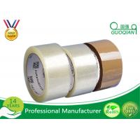 China Box Sealing Bopp Film Custom Printed Packaging Tape With Acrylic Adhesive on sale