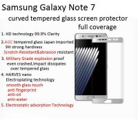 Buy cheap tempered glass screen protector for galaxy note 7/samsung note 7 3D curved edge to edge Scratch-Resistant shatterproof from wholesalers