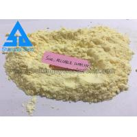 Buy cheap Yellow Crystalline Powder Mass Building Stack Steroids CAS 10161-34-9 product