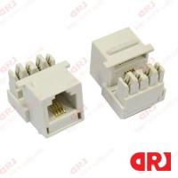 Buy cheap Cat3 UTP 4p4c rj11 keystone jack for Structure Cabling System from wholesalers