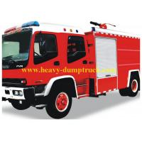 Buy cheap 4X2 8000 Litres Fire Fighting Truck Power Steering 8 Forwards / 1 Reverse from wholesalers