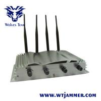 Buy cheap 9W Jamming Range 500m Drone Signal Jammer WIFI 2.4g 5.8G GPS High Tech Rubber Antennas from wholesalers