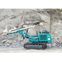 Buy cheap 90mm To 115mm 5.8T Dth Drilling Rig Machine , Hydraulic Drilling Rig Easy Operation from wholesalers