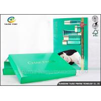Rectangle Beautiful Packaging Boxes Makeup Gift Set Recycled CCNB Paper Materials