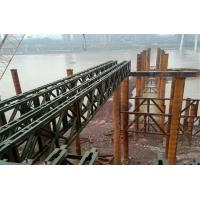 Modular Mabey Compact 200 Bridge Temporary Steel Bridge For Construction Support