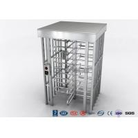 Buy cheap Indoor Or Outdoor Pedestrian Turnstile Security Systems Semi - Auto Mechanism Housing product
