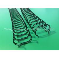 Buy cheap 5/8 Inch Nylon Coated Double Wire O Binding Black 135 Pages Paper Quantity from wholesalers