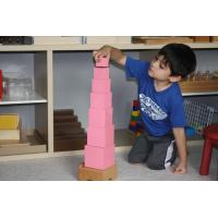 Buy cheap Premium Montessori Materials for export- Pinktower from wholesalers