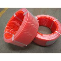 Buy cheap Pu Cord Polyurethane O Ring Cord Round Belt Rough Smooth Orange Color For Ceramic Tile Conveying from wholesalers