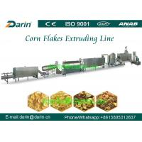 Buy cheap Breakfast Fruit Loops / Cereal Corn Flakes Processing Line with CE Standard from wholesalers
