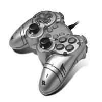 Buy cheap USB PC PS2 / PS3 Playstation Controllers D-INPUT / XINPUT Gamepad from wholesalers