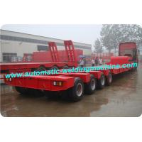 Buy cheap 3 Axles Low Bed Semi Trailer Production Line For Special Vehicles Industry from wholesalers