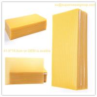Buy cheap beeswax comb foundation/ beeswax honey comb from wholesalers