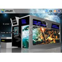 Buy cheap Removable 5D Cinema Cabin , Amusement Park 5d Mini Cinema product