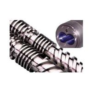 China PVC Extrusion Plastic Extruder Parts Screw Diameter  Φ18-Φ177mm on sale