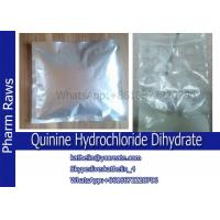Buy cheap Quinine Hydrochloride Dihydrate / Q hydrochloride dihydrate / Q HCL To Treat Vivax Malaria CAS No.:6119-47-7 from wholesalers