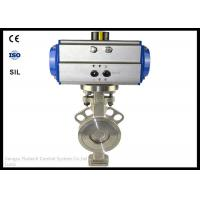 China ANSI Pneumatic Wafer Butterfly Valve Actuator DN50 12-18 Months Warranty on sale