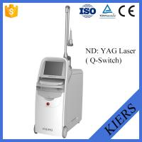 Buy cheap Medical Q Switched Nd Yag Laser Tattoo Removal Machine With Big Spot Size Treatment from wholesalers