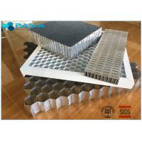 Buy cheap Aluminum Honeycomb Curtain Wall Core Board 0.06mm Thickness Glue Bonded from wholesalers