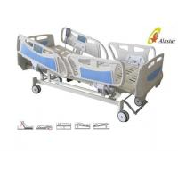Buy cheap Five Function ABS Side Rail Electric ICU Bed With Central Control Brake Wheels (ALS-E507) from wholesalers