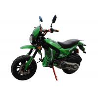 Buy cheap Green Color Body Gas Dirt Bikes High Speed With Front Disc Rear Drum from wholesalers