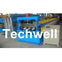 Buy cheap PLC Control Deck Roll Forming Machine For Floor Decking Panel, Metal Decking Sheet from wholesalers