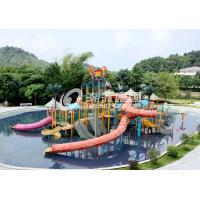 Buy cheap Commercial Medium Water House Aqua Playground Platform With Water Slide for Water House from wholesalers