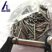 Buy cheap buy machinable densimet 176 tungsten nickel iron alloy rod and bar for fishing from wholesalers