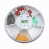 Buy cheap Dispenser Pill Box, Seven Compartments can Hold One Week Pills, Capsules and Tablets from wholesalers
