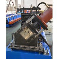 Buy cheap Warehouse Pallet Rack Roll Forming Machine with 80 Ton Press Machine Heavy Duty from wholesalers