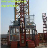 Buy cheap 2t load construction elecator material hoist from Yuanxin factory from wholesalers