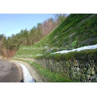 Buy cheap Hexagonal PVC Coated Wire   Gabion Boxes  , Reinforced Gab Bridge Protection from wholesalers