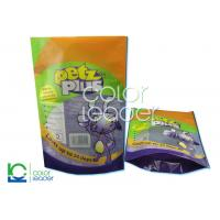 Buy cheap Polypropylene Moisture Barrier Stand Up Packaging Pouches 3 Sides Seal from wholesalers