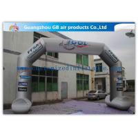Buy cheap 8 x 5m Grey Custom Inflatable Arch Full Color Printing for Sporting Events product