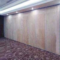 Buy cheap Hanging Ceiling System Banquet Room Divider Soundproof Movable Partition Wall from wholesalers