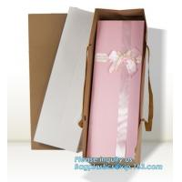Buy cheap Wholesale Durable Colorful Custom Printed Cake Packaging Gift Paper Bag With Flower, Tote Carrier Gift Bags bagease pac from wholesalers