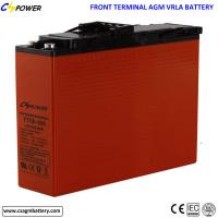 Buy cheap 12V 100Ah deep cycle Front terminal Maintenance free VRLA batteries for solar and Telecom from wholesalers