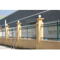 Buy cheap Modern Design Wrought Iron Fence Railing Waterproof Environmentally Friendly from wholesalers
