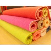 Buy cheap Pure Bright Knitting Wool Fabric , Luster Soft  Warm Polyester Facirc from wholesalers