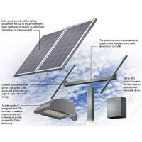 Buy cheap TPT Back Cover Solar Panel Street Lights / Solar Powered Parking Lot Lights from wholesalers